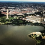 Tidal Basin from the air.